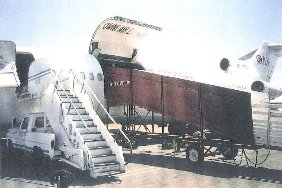 Omni aircraft is loaded with cargo
